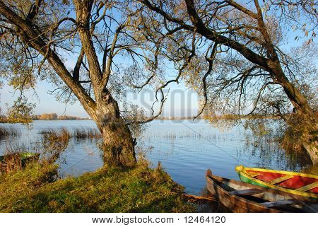 Boats resting place