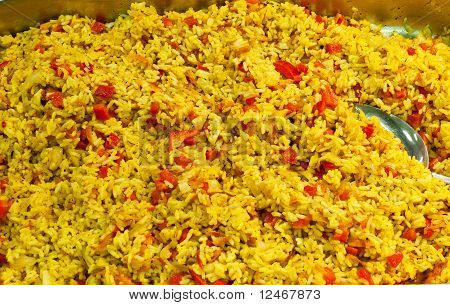 Pilau With Vegetables