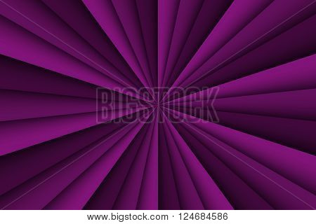 Vector purple abstract background three shades of purple lines