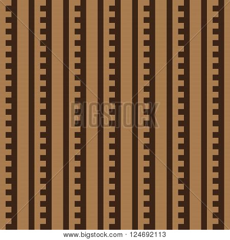 seamless pattern with geometric figures beige brown
