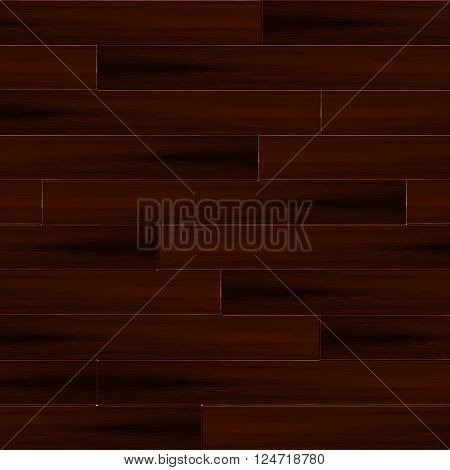 Illustrated wood parquet texture for floors and architecture interior designs. Vector illustration