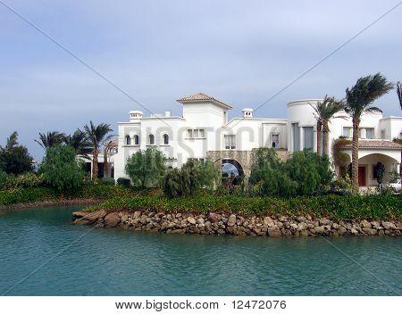 Island in El Gouna, Egypt