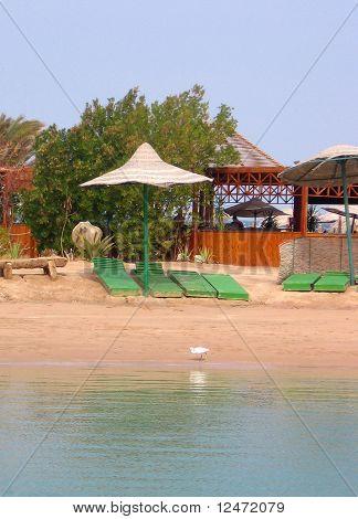 Beach Zeituna in El Gouna.