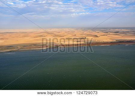 The Sceleton Coast In Namibia