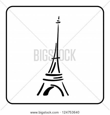 Eiffel Tower Simple Vector Photo Free Trial Bigstock