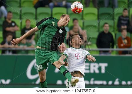 Ferencvaros - Paks Otp Bank League Football Match