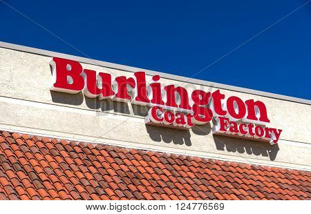 Burlington Coat Factory Warehouse Corporation Exterior And Logo