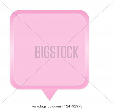 color label and tag design in pink.