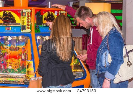 RENESSE ZEELAND THE NETHERLANDS - JUNE 14 2015: