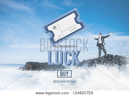 Luck Chance Destiny Fate Fortune Positive Lucky Concept