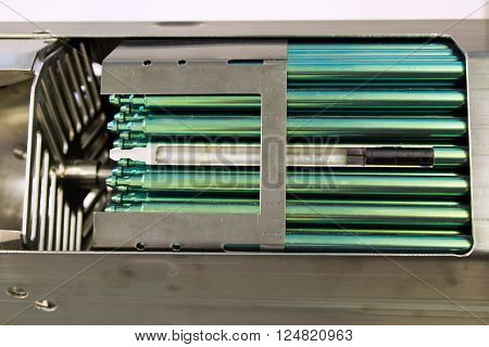 Fragment of a fuel rod of a nuclear reactor