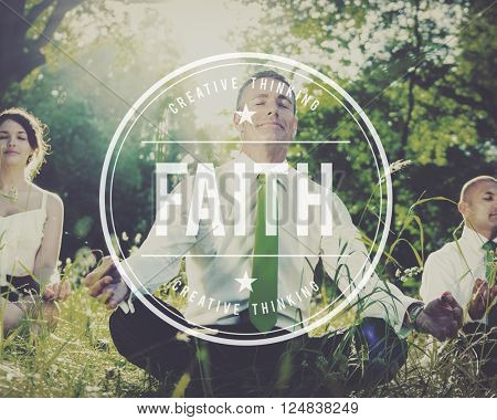 Faith Believe Belief Creed Hope Religion Loyalty Concept