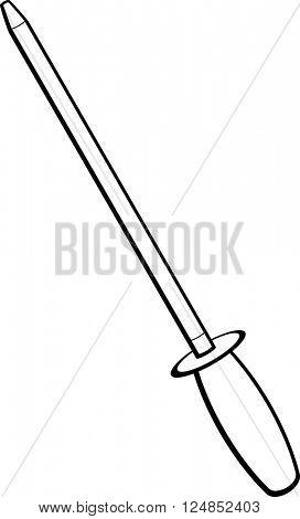 knife honing rod