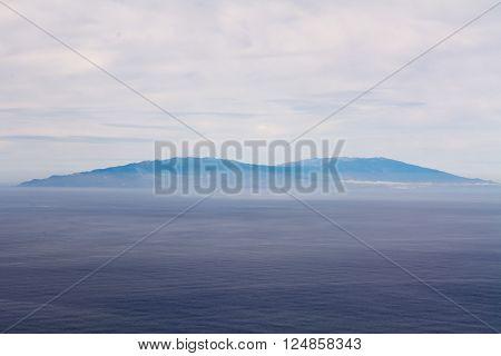 El Hierro Viewed From Gomera