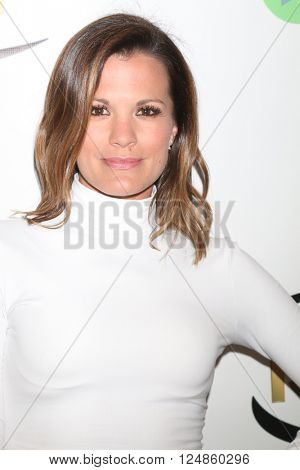 LOS ANGELES - APR 6:  Melissa Claire Egan at the 7th Annual Indie Series Awards at the El Portal Theater on April 6, 2016 in North Hollywood, CA