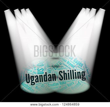 Ugandan Shilling Indicates Exchange Rate And Broker