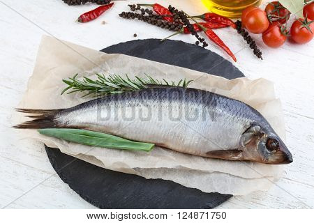 Herring With Onion And Rosemary
