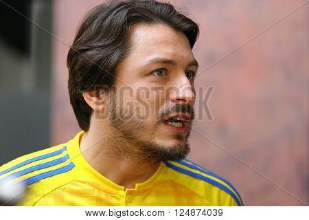 Ambassador Of Ukraine National Team, Tv Presenter Sergiy Prytula