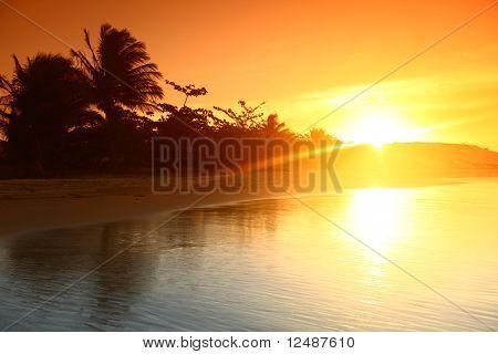 landscape ocean sunrice