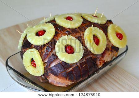 Juicy Baked Ham