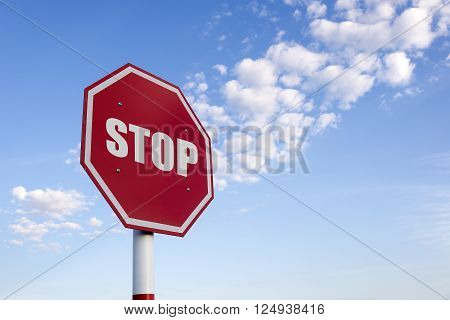 the traffic sign