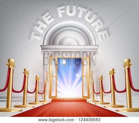 The Future Red Carpet Door