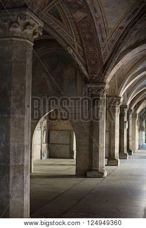 Cloisters Of Santa Maria Novella