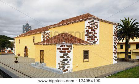 Nuestra Senora del Rosario Church in Barlovento, North of La Palma, Canary Islands, Spain
