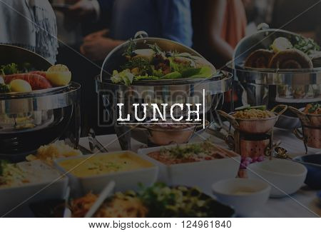 Delicacy Healthy Lunch Fine Dining Food Delicious Concept