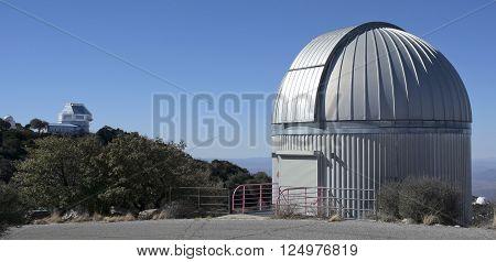 TUCSON, ARIZONA, FEBRUARY 28. Kitt Peak National Observatory on February 28, 2016, near Tucson, Arizona. A view of the SARA Telescope at Kitt Peak National Observatory near Tucson Arizona.