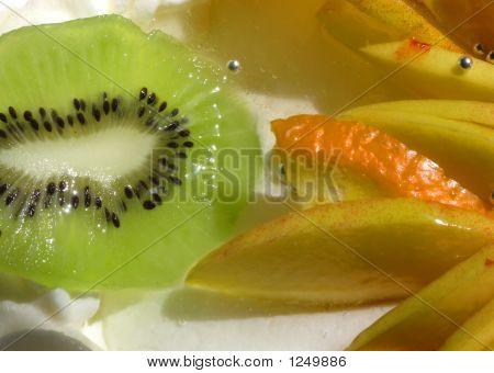 Fruits On Cake