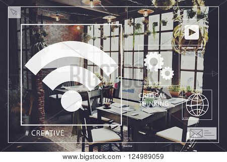 Startup Home Office Creativity Startup Concept