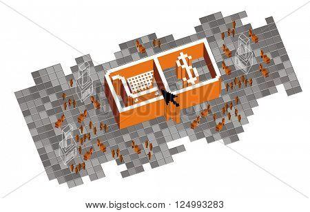 Retail illustration