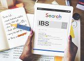 IBS Illnes Medical Sick Symptoms Concept poster