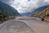Kali Gandaki Gorge (or Gandaki River), Annapurna conservation area, Nepal poster