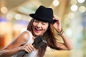 Singer Singing Musician Music Little Girls Teenager Child poster