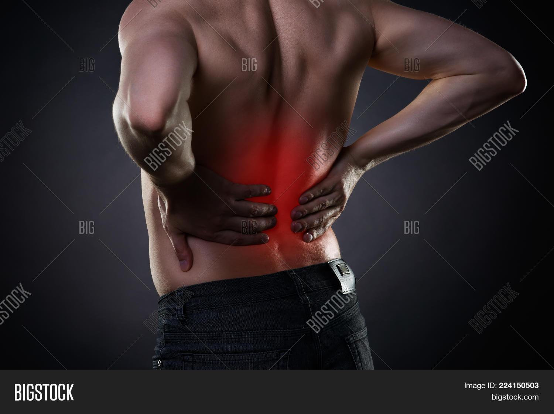 Back Pain Kidney Image Photo Free Trial Bigstock
