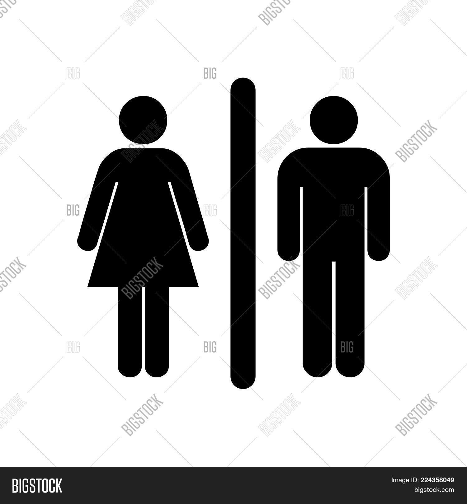 Female Male Icon Vector Photo Free Trial Bigstock