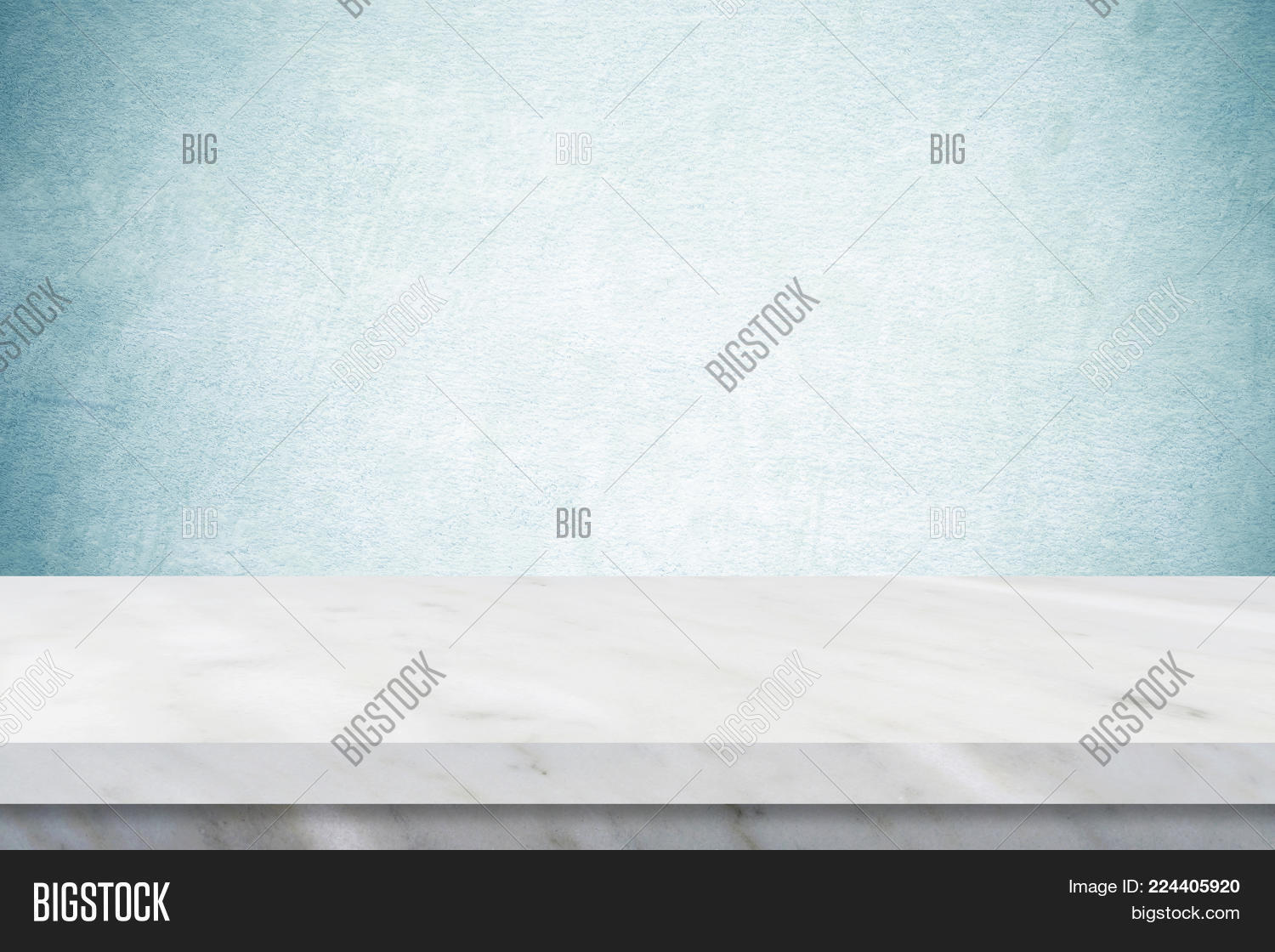 marble table top texture. Empty White Marble Table Over Green Cement Wall Background, Banner, Top, Shelf Top Texture