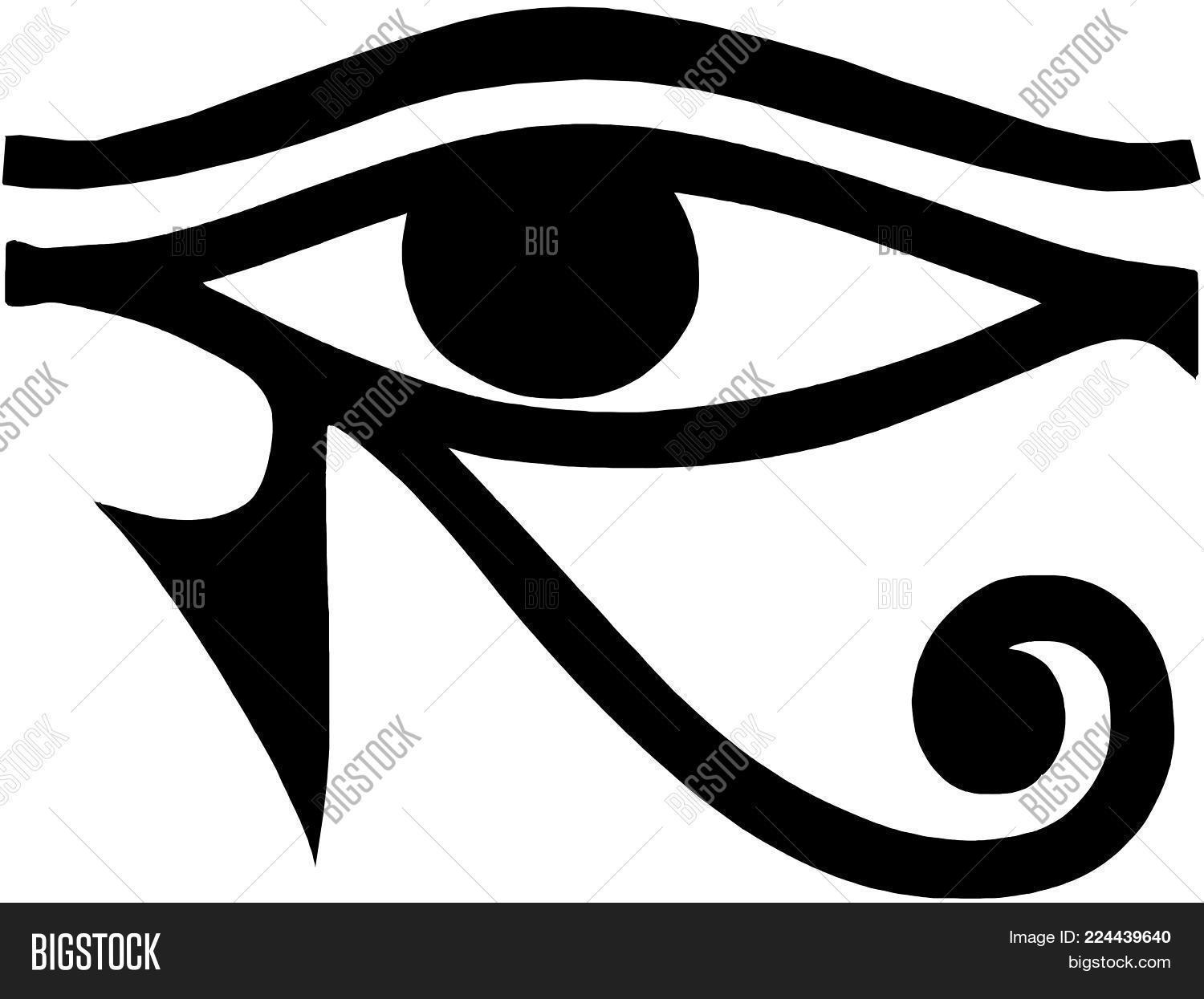 Eye Horus Egyptian Image Photo Free Trial Bigstock