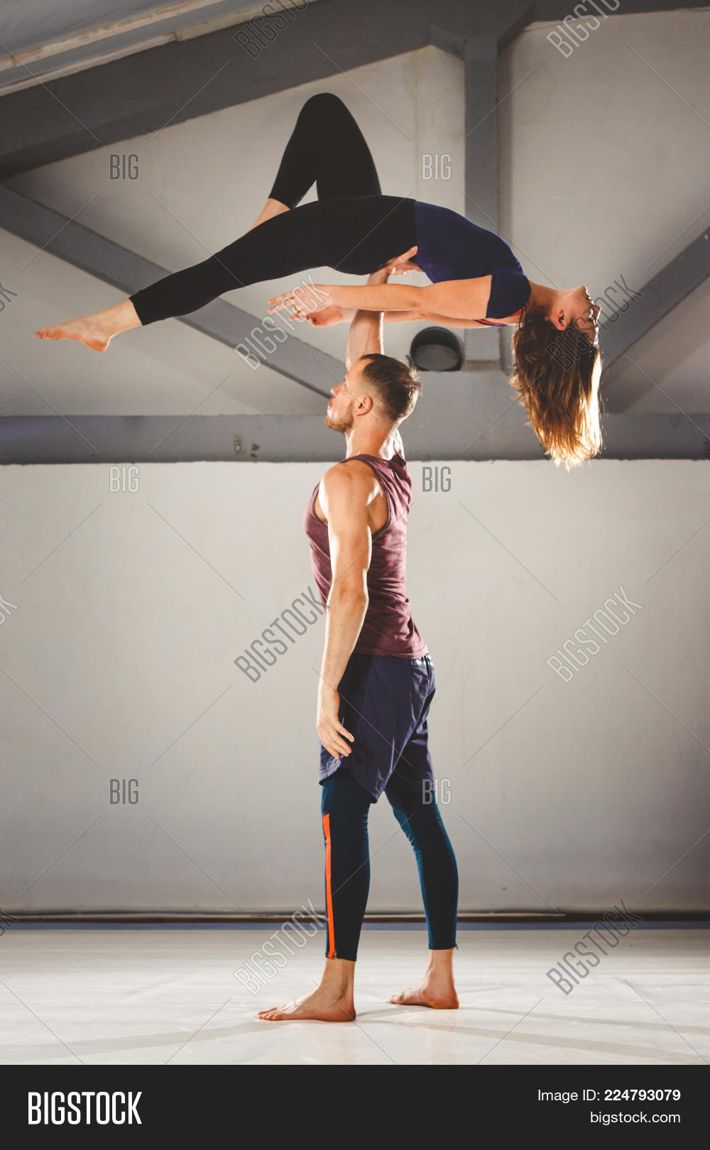 Theme Acroyoga Yoga Image Photo Free Trial Bigstock