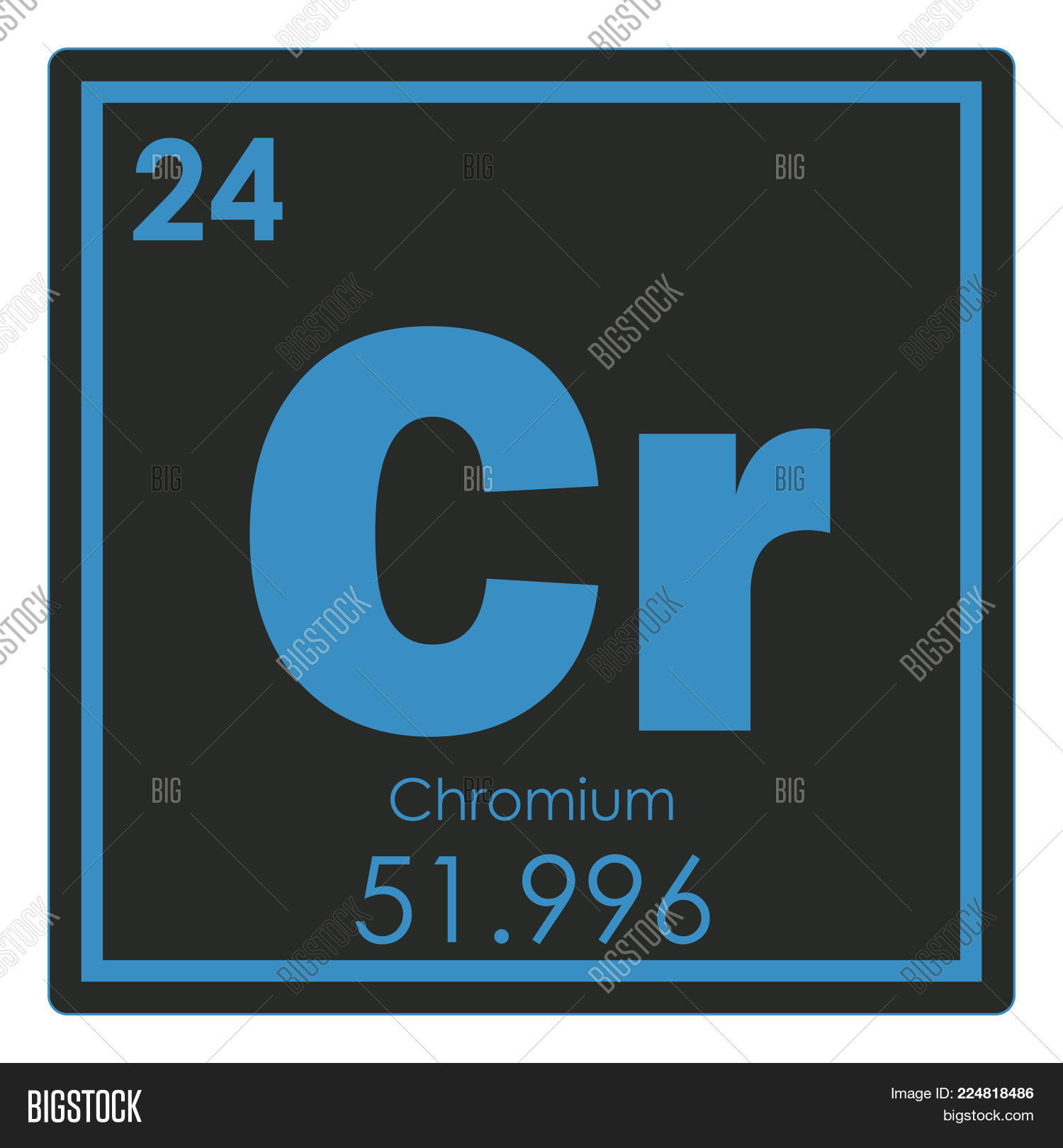 Chromium Chemical Image Photo Free Trial Bigstock