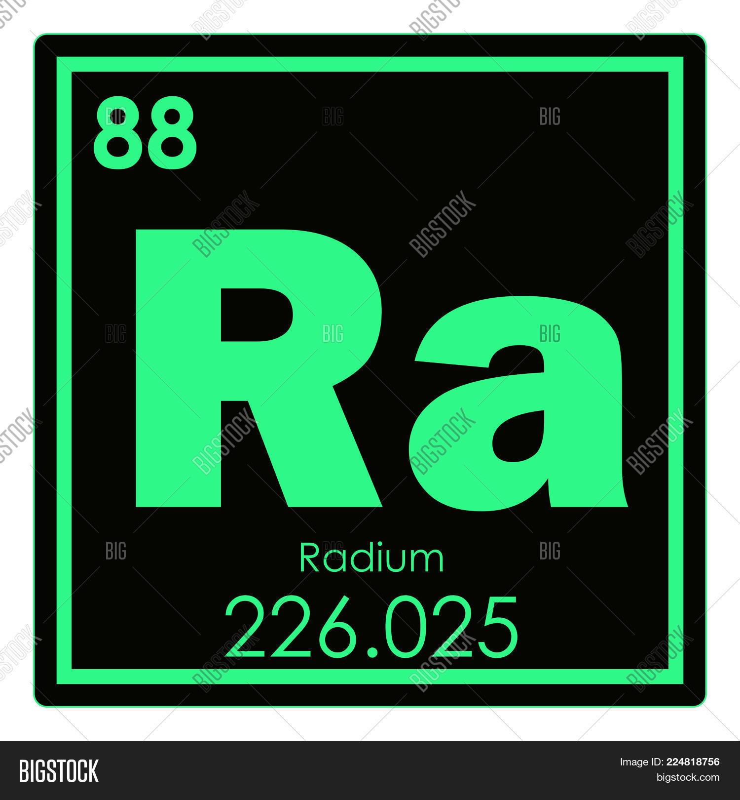 Radium Chemical Image Photo Free Trial Bigstock