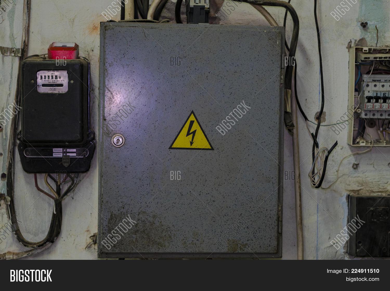 Wall-mounted Electric Board Image & Photo | Bigstock