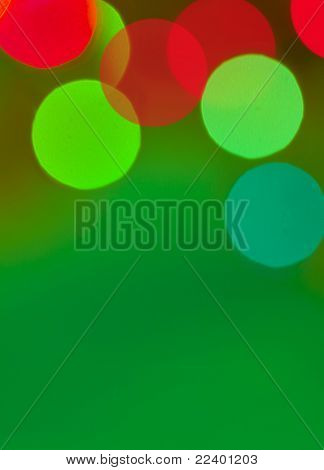christmas background with a place for your text