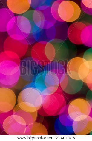 blur lights , defocused background