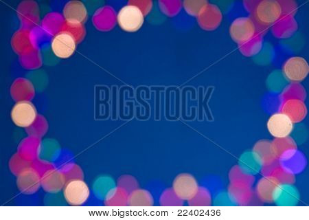 blur lights , defocused background with CopySpace for your text