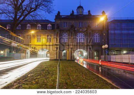 Koblenzer Tor In Bonn, Bonn, North Rhine-westphalia, Germany.