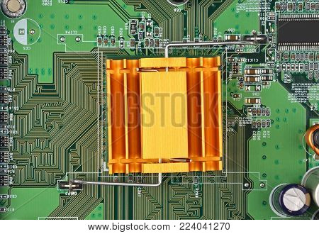 Green Computer Motherboard