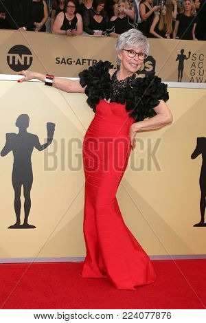 LOS ANGELES - JAN 21:  Rita Moreno at the 24th Screen Actors Guild Awards - Press Room at Shrine Auditorium on January 21, 2018 in Los Angeles, CA